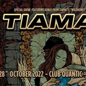 Concert Tiamat in club Quantic