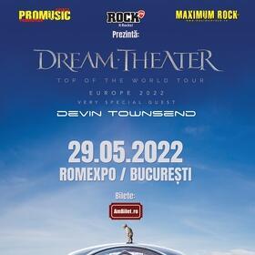 Devin Townsend se alatura turneului european Dream Theater din 2022, fiind invitat special in cadrul concertului de la Bucuresti