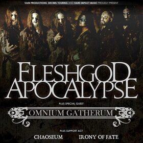 Trupa Omnium Gatherum va susține două concerte în România alături de Fleshgod Apocalypse și alte formații elvețiene