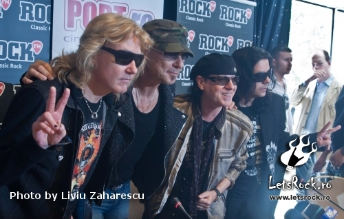 Conferinta de Presa Scorpions, Sting and Blackout World Tour 2011