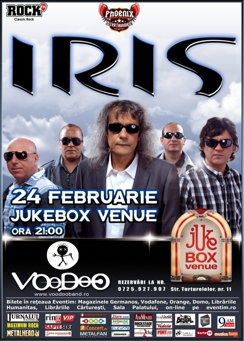 Cronica Iris si Voodoo in Jukebox, 24 februarie 2012