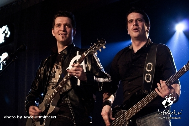 Galerie foto Trooper si Blue Pulse in Hard Rock Cafe, 3 martie 2012 -