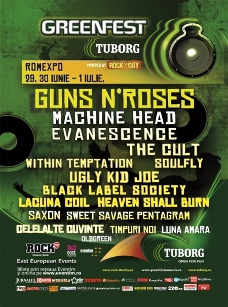 Tuborg GreenFest powered by Rock the City