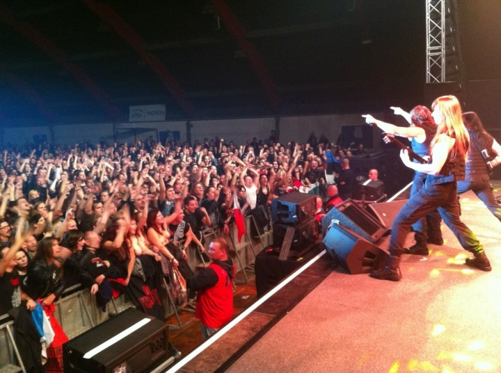 Manowar, Praga, The Lord Of Steel 2012
