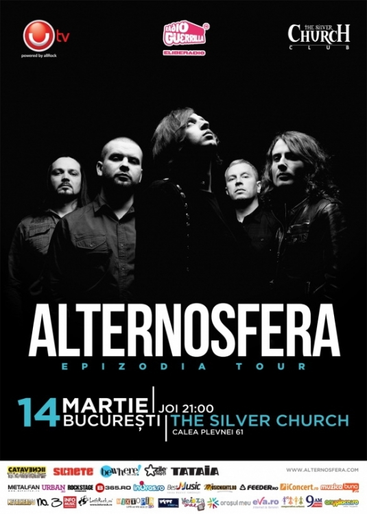 Alternosfera - perfectiune prin simplitate (The Silver Church, 14.03.2013)