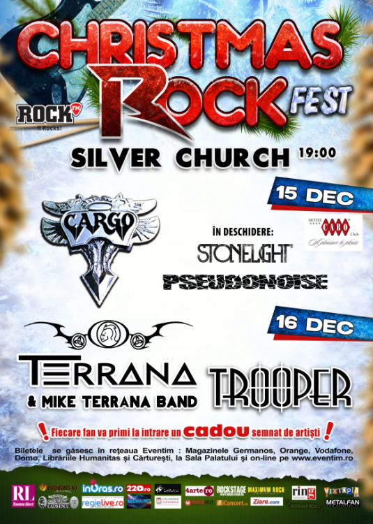 Cronica Christmas Rock Fest, Silver Church, 15-16 decembrie 2013