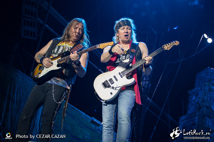 Iron Maiden, Book of Souls tour, Rock the City, Piata Constitutiei