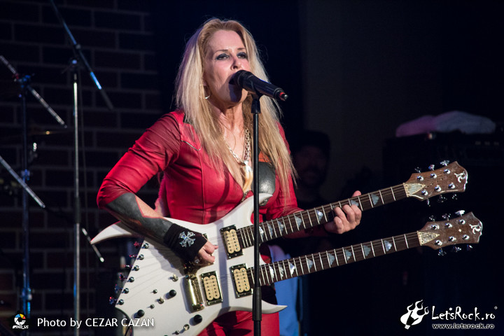 Galerie foto Lita Ford in Hard Rock Cafe, 14 martie 2017 - Lita Ford, Hard Rock Cafe