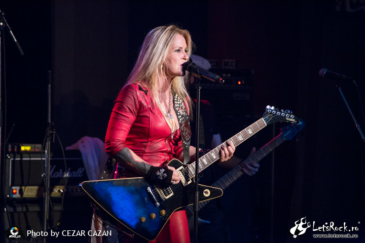 Galerie foto Lita Ford in Hard Rock Cafe, 14 martie 2017