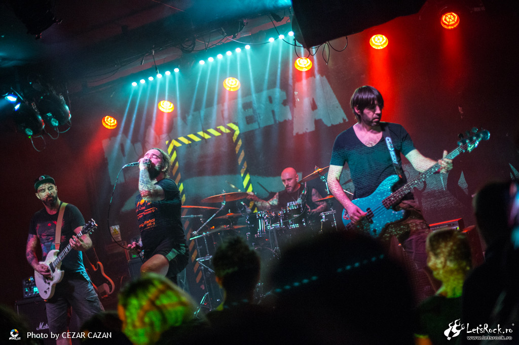 Galerie foto Domination - Pantera tribute band in club fabrica, 29 decembrie 2017 - Domination, fabrica, Pantera tribute band