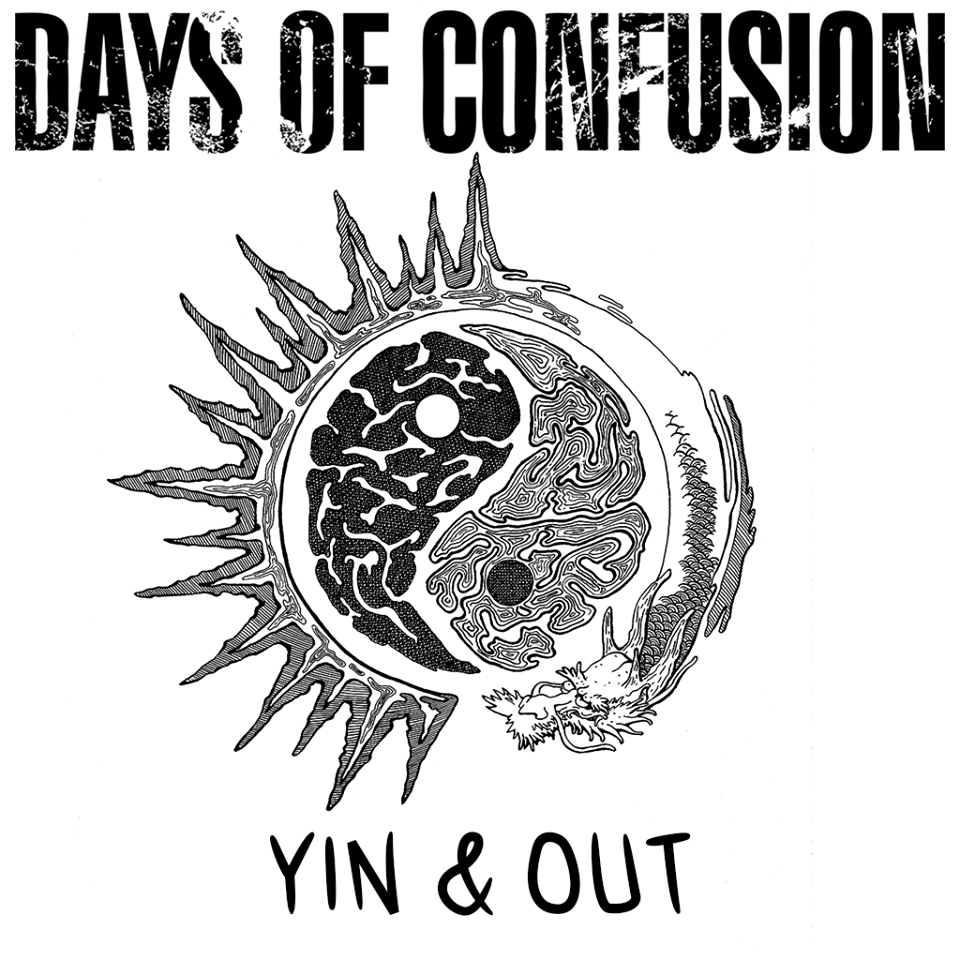 Days of Confusion - Yin & Out (coperta album)