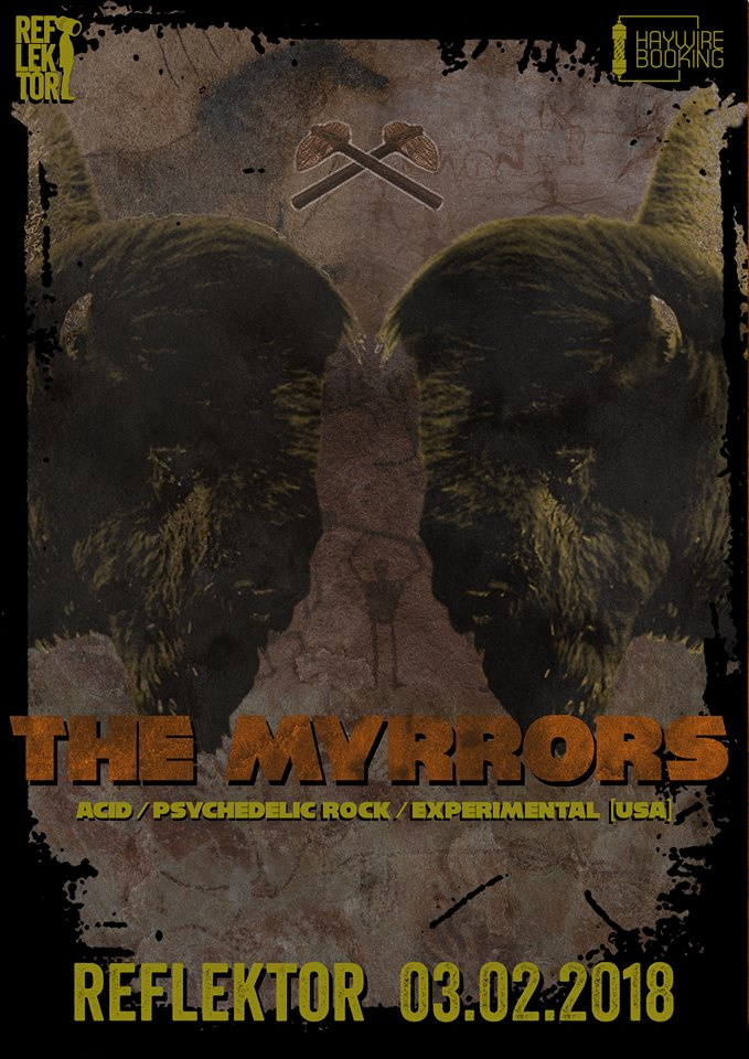 The Myrrors - afis concert