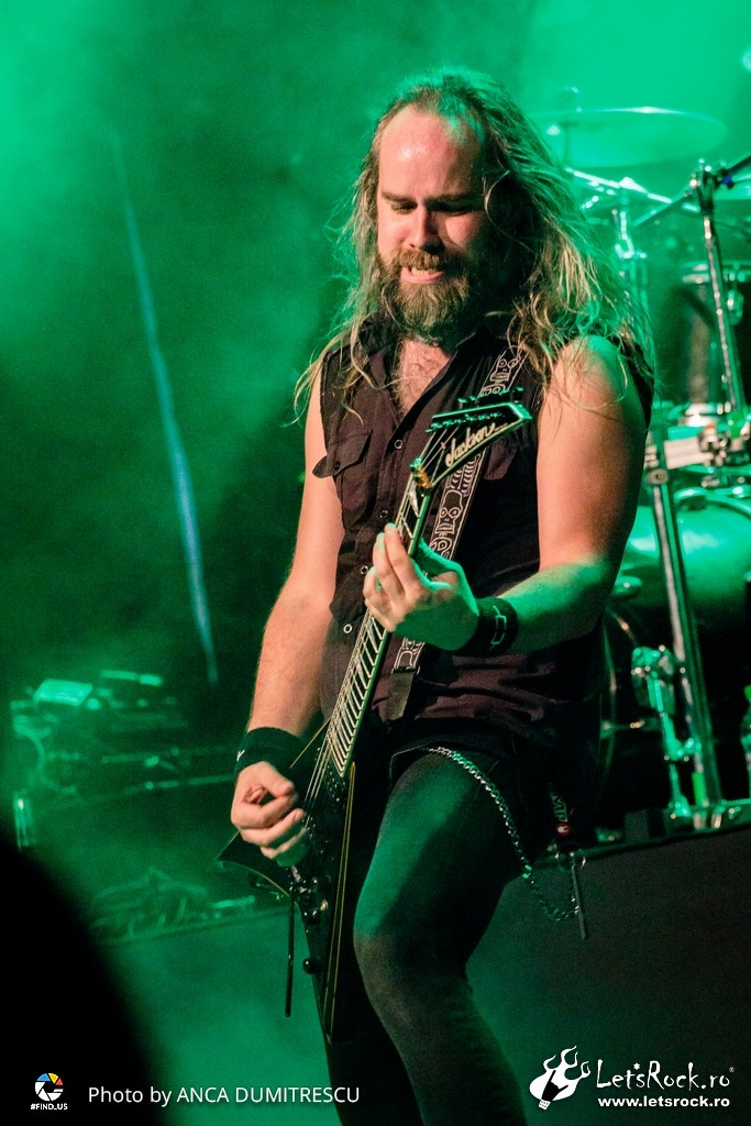 Galerie foto Insomnium si Tribulation in club Quantic, 22 martie 2018