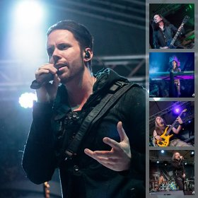 Galerie foto Kamelot si Crossing Eternity la Quantic, 16 august 2018