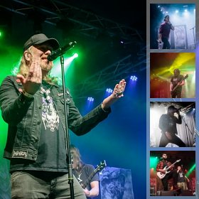 Galerie foto At The Gates la Quantic, 6 decembrie 2018
