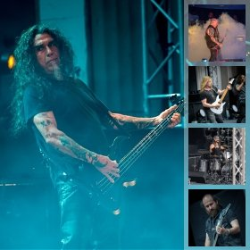 Galerie foto Slayer - Final Show in Romania la Arenele Romane, 10 iulie 2019