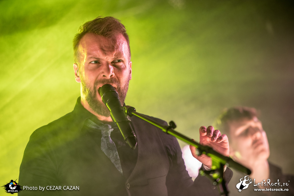 Leprous, club Quantic, Pitfalls Tour