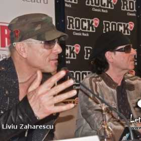 Conferinta de Presa Scorpions, Sting and Blackout World Tour 2011, Scorpions