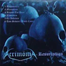 ACRIMONIA - RESURRECTION