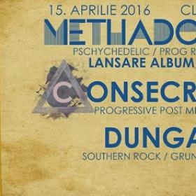 Methadone Skies, Consecration, Dungaree - Daos, Timisoara - 15 aprilie 2016