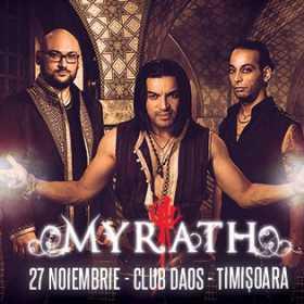 Myrath - Daos, Timisoara - 27 noiembrie 2016