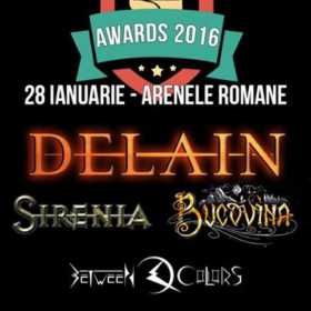 Metalhead Awards ziua 2: Between Colors, Bucovina, Sirenia, Delain, Arenele Romane, 28 ianuarie, 2017