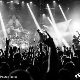 Galerie foto Devin Townsend Project, Between the Buried and Me si Leprous in Barba Negra Club (Budapesta) - Devin Townsend,Barba Negra - Poza 60