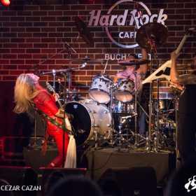 Galerie foto Lita Ford in Hard Rock Cafe, 14 martie 2017 Lita Ford, Hard Rock Cafe
