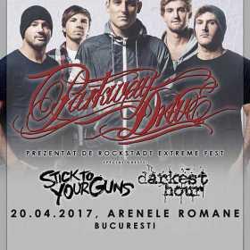 Cronica de concert Darkest Hour, Stick To Your Guns si Parkway Drive la Arenele Romane, 20 aprilie 2017