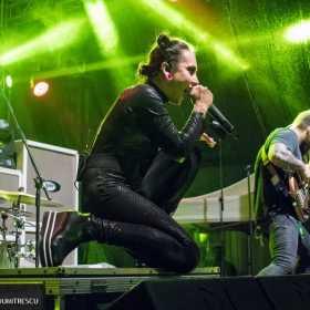 Galerie foto Arch Enemy si Jinjer la Quantic, 20 septembrie 2017 - Jinjer - Poza 11