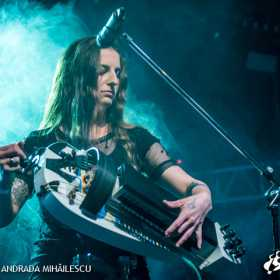 Galerie foto Lacuna Coil & Cellar Darling @ Club Quantic pe 15 Noiembrie 2017, Cellar Darling