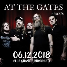 Cronică de concert At The Gates în club Quantic, 6 decembrie 2018