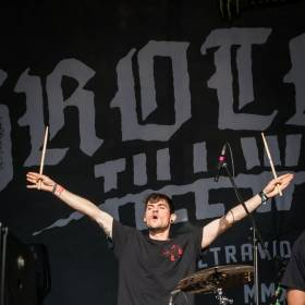 Galerie foto Rockstadt Extreme Fest 2019, ziua 4 - scena Adrian Rugina, Brothers Till We Die