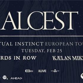 Cronică de concert Alcest / Spiritual Instinct Tour at Quantic, 25 februarie 2020