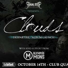 Cronică de concert Clouds (Despartire album launch) în Quantic, 14 octombrie 2021