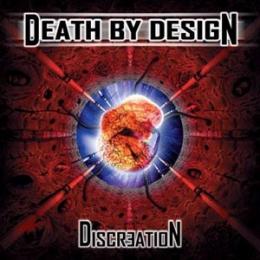 CD straine - DEATH BY DESIGN - DISCREATION #0002160