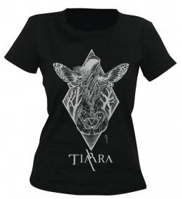 Tricouri trupe romanesti - TIARRA - PAIN KNOWS OUR NAMES (girlie) #0003248