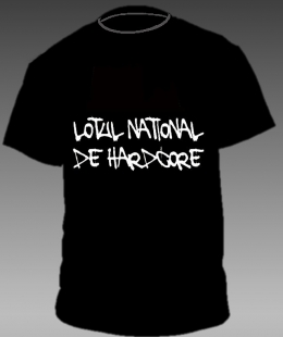 Tricouri trupe romanesti - LOTUL NATIONAL DE HARDCORE - LOGO #0003738