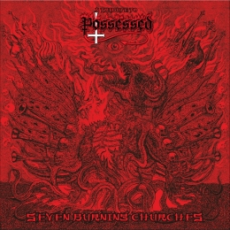 CD straine - SEVEN BURNING CHURCHES - A TRIBUTE TO POSSESSED #0003851