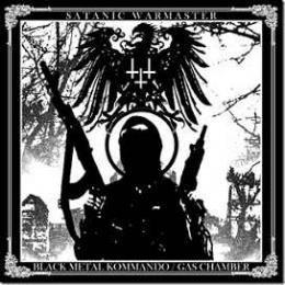 CD straine - SATANIC WARMASTER - BLACK METAL KOMMANDO / GAS CHAMBER #0004018