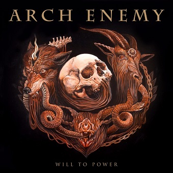 CD straine - ARCH ENEMY - WILL TO POWER #0004180