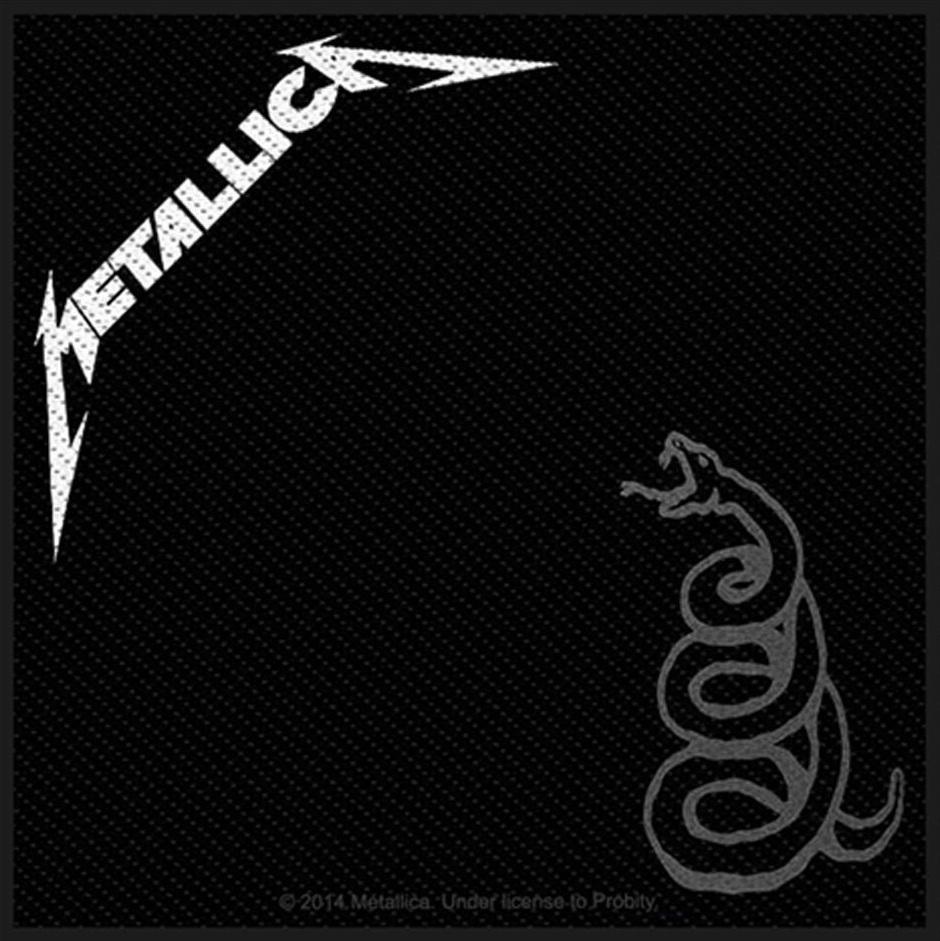 Patchuri - METALLICA - BLACK ALBUM #0004361