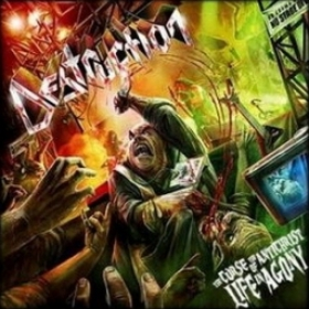 DESTRUCTION - THE CURSE OF THE ANTICHRIST LIVE IN AGONY