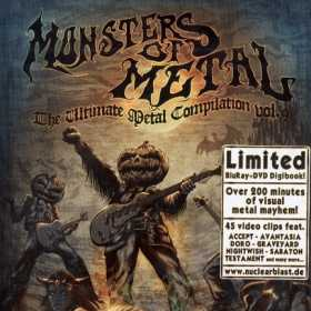 MONTERS OF METAL - THE ULTIMATE METAL COMPILATION VOL. 9 (compilatie)